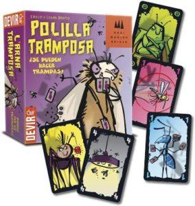 juegos de mesa para niños Polilla Tramposa